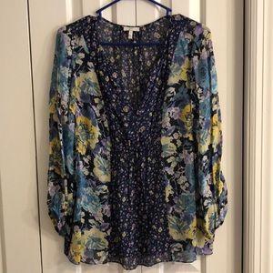 Joie size M pretty floral print tunic size medium